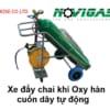 novishop.vn- Xe đẩy chai khí Oxy hàn cuốn dây tự động