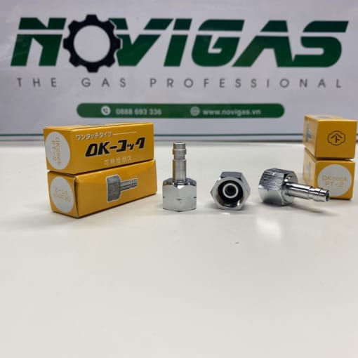 novigas.vn-novishop.vn- dau ket noi 1 cham yamato Plug connector PT-2 dung cho LPG
