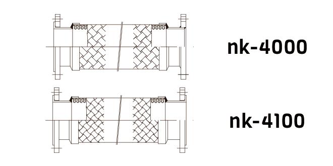 ống nối mềm dạng bích NK-VN4100 ong noi mem nk-vn4100 mua ong noi mem phu kien khi cong nghiep mua khi cong nghiep tai ha noi mua khi cong nghiep mien bac